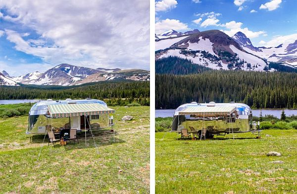The Restored Airstream Flying Cloud Travel Trailer