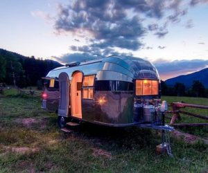 The SCRW Stool By Manuel Welsky · The Restored Airstream Flying Cloud  Travel Trailer