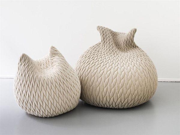 Comfortable pouf slumber design by aleksandra gaca - Pouf a sacco ikea ...