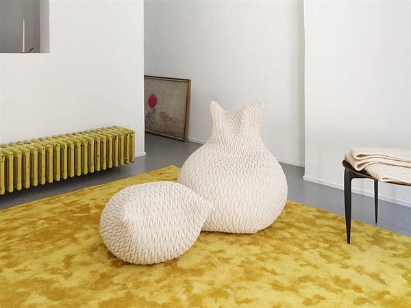 Comfortable Pouf Slumber Design By Aleksandra Gaca Amazing Ideas