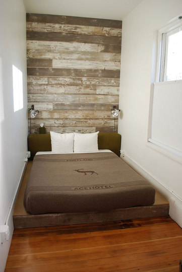 Small bedroom decorating ideas on a budget - Hoofdbord wit hout ...