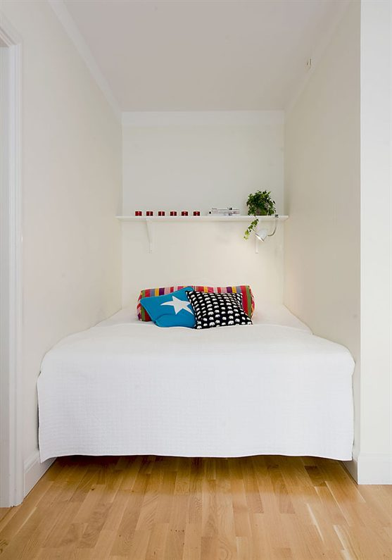 Small bedroom decorating ideas on a budget for Chambre 9m2 ikea