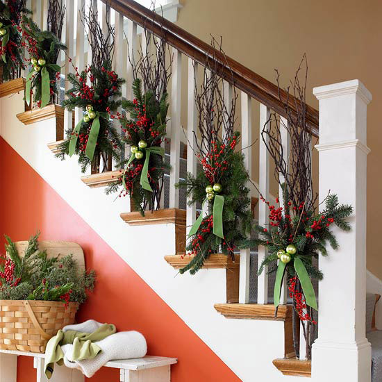Decorating The House For Christmas how to decorate the interior of a house for christmas:5