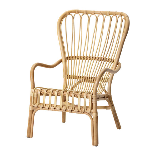 This Chair Is Hand Made Of Rattan And All The Pieces Chosen To Be Put  Together Are Rounded And Very Well Polished. The Wood Pieces Are Very  Nicely And ...