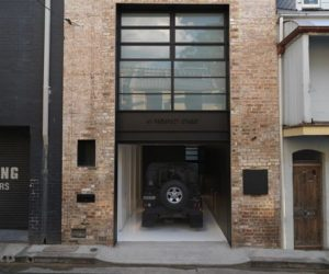 19th century warehouse into a 2 level residence by Ian Moore Architects