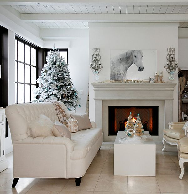 A christmas interior design like no other from darci ilich for Decorating your house for christmas