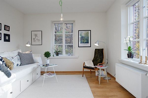 Small apartment with a playful interior décor