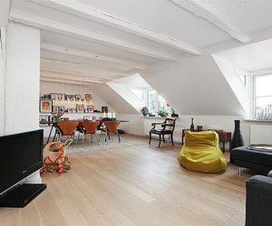 Modern Top Floor Apartment in Copenhagen