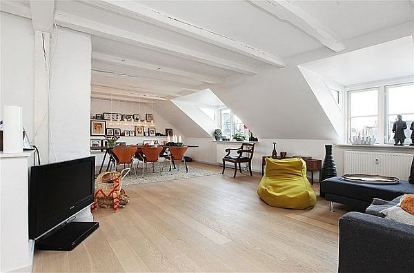 Charming Modern Top Floor Apartment In Copenhagen