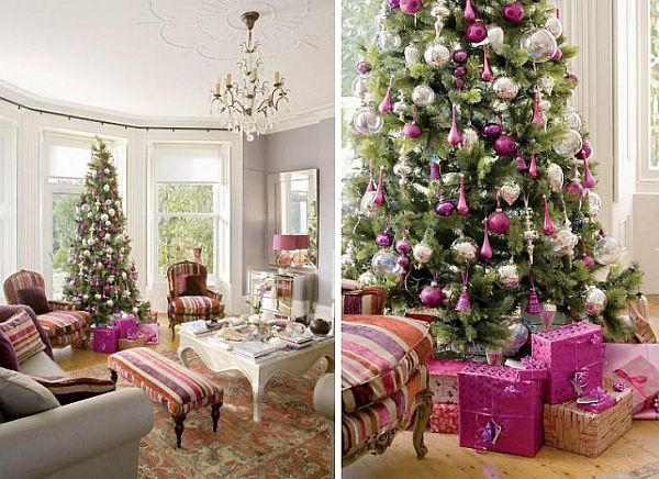 Stylish victorian residence decorated for christmas for Home decor maisons laffitte