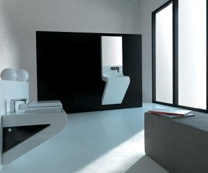 The Wave washbasin from Artceram