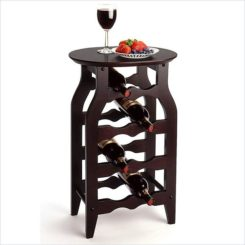 Nice The Winsome 8 Bottle Oval Top Wine Rack Gallery