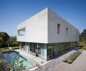 Contemporary Zimmermann Residence in Küsnacht, Switzerland