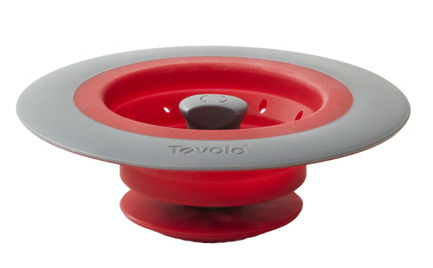 It Allows Water To Go Through But Kind Of Filters Keeping All The Debris Silicone Material Makes Stay Fixed Sink And Can Be Easily