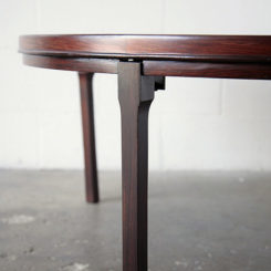 Round Rosewood Coffee Table