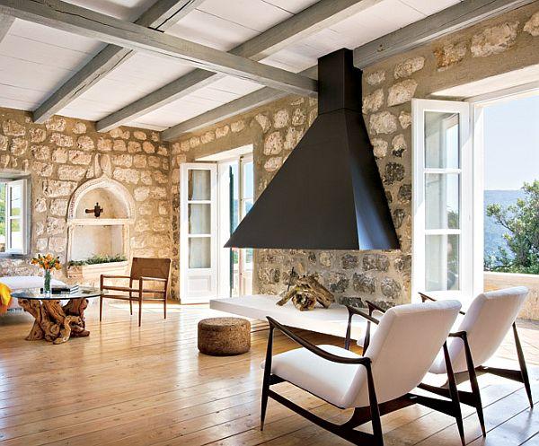 Impressive Stone House in Croatia