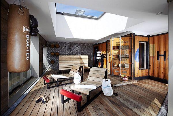 the 25hours hotel hafencity in hamburg germany. Black Bedroom Furniture Sets. Home Design Ideas