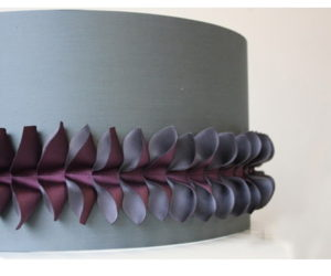 Leaf Lampshade by Lorna Syson