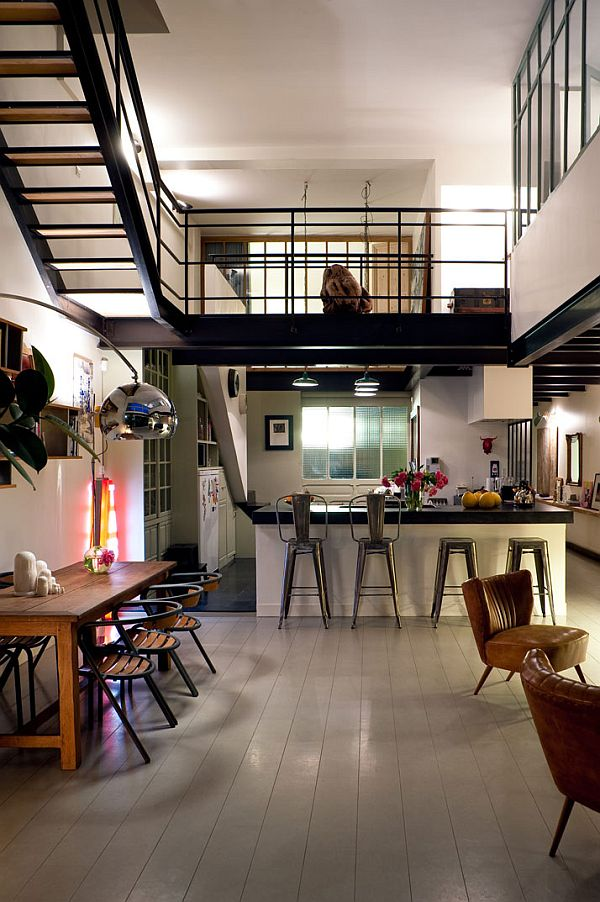 Beau Parisian Dream Loft Interior Design