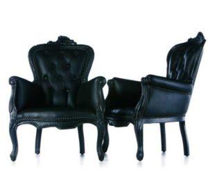 Burnt Chair by Maarten Baas