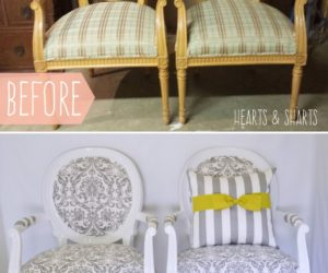 Turning Trash Into Treasures – 8 Easy Chair Makeovers