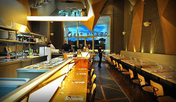 The chef s table restaurant design by buensalido architects for Table 99 restaurant