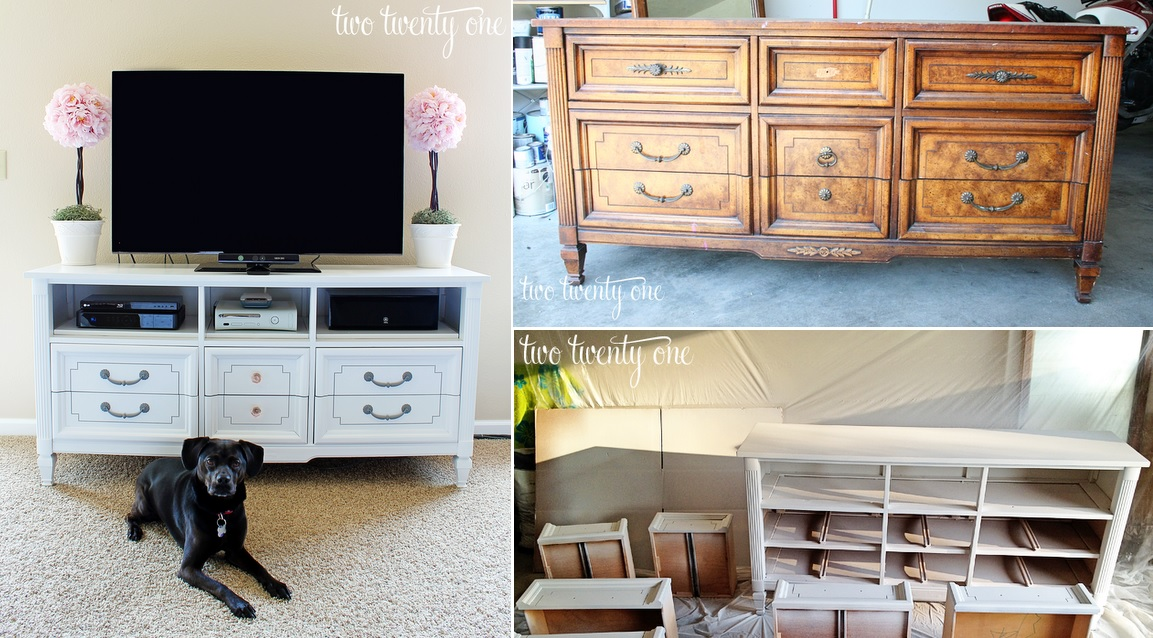 DIY TV Stand Makeover