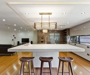 Minimalist and contemporary features together in kitchens by Darren James
