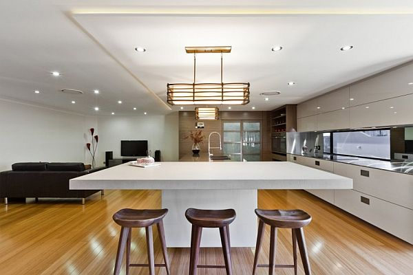 Minimalist And Contemporary Features Together In Kitchens