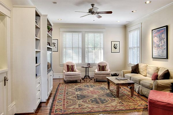Colonial Style Interior welcoming dutch colonial home in texas