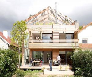 The Eco-Sustainable House Project by Djuric Tardio Architectes