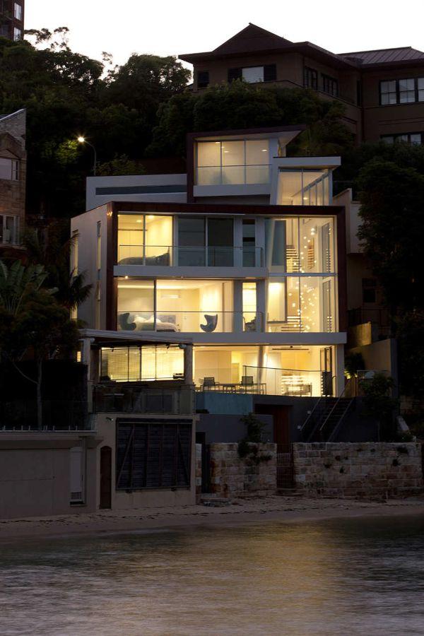 Elegant house design by POPOVbass Architects