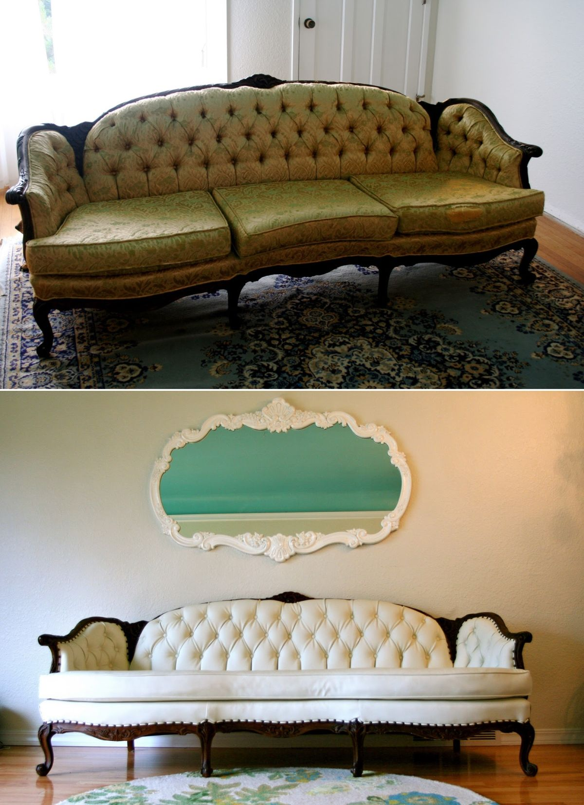 Full sofa makeover