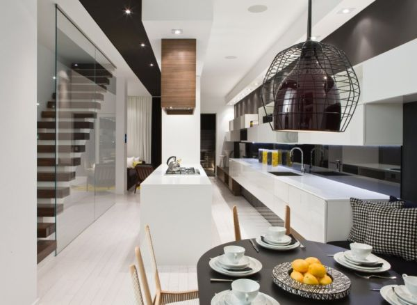 Gorgeous Modern Interior Design By Cecconi Simone: modern house interior design