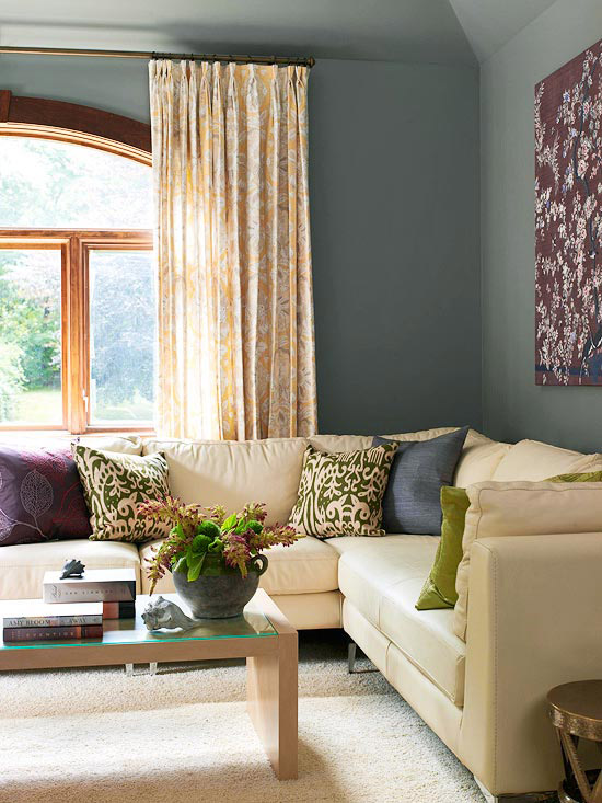Living Room Ideas Purple And Grey 21 gray living room design ideas