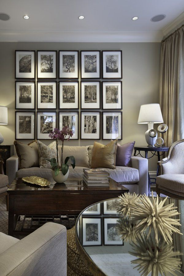 Modest Ideas To Decorate Living Room Walls Model