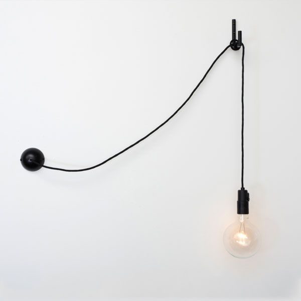 Hook wall lamp
