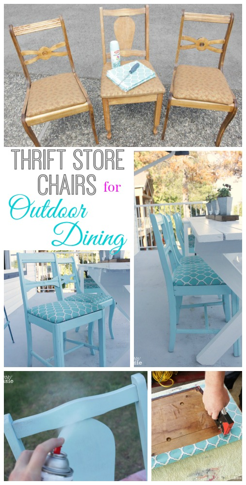 How to turn thrift store upholstered chairs
