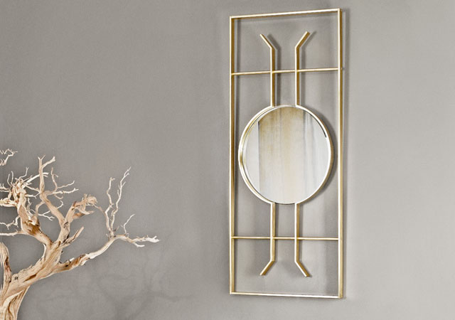 Great Keyhole Mirror From Lawson Fenning Good Looking