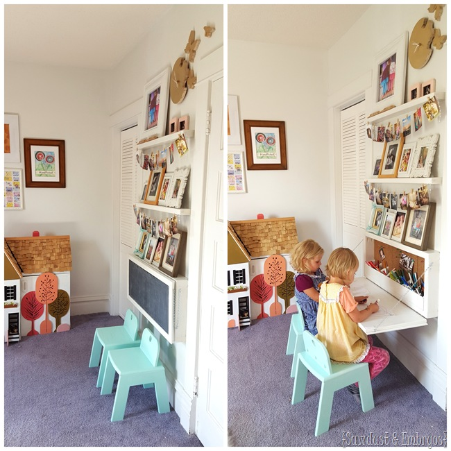 8 Small Desks And Art Center Ideas For Kids And Small Homes