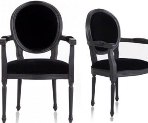 Classic Louis XVI Dining Chair · New Louis Black Armchair Awesome Ideas