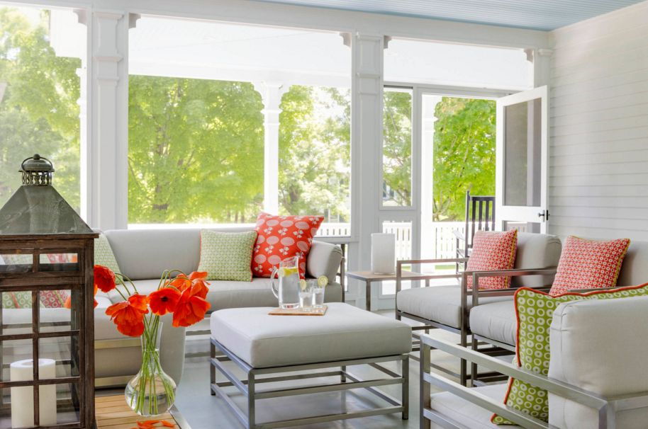 Open space sunroom design