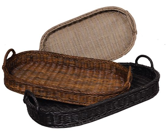 Perfect Oval Rattan Trays Photo Gallery