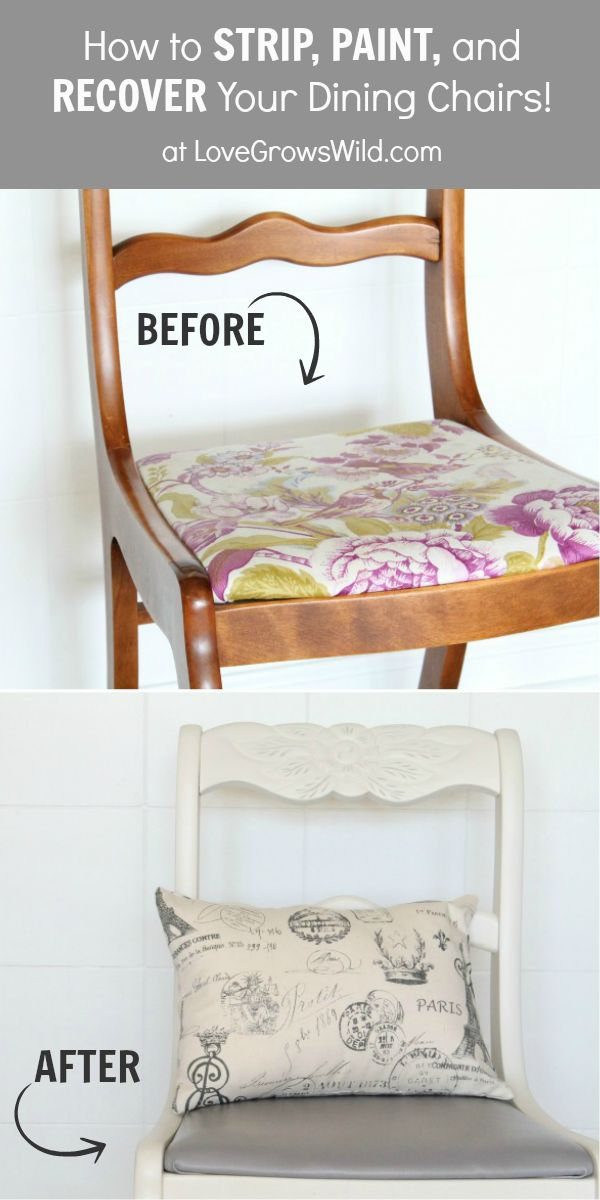 Painted chairs a fresh and fast makeover