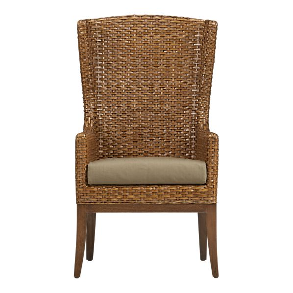 The Palmetto Chair With Khaki Cushion