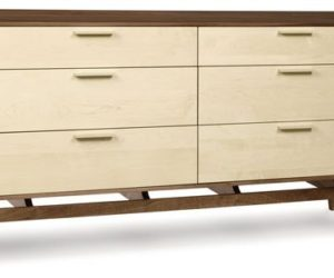 Soho Modern 6 Drawer Dresser