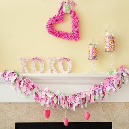 valentine s day mantel decoration ideas