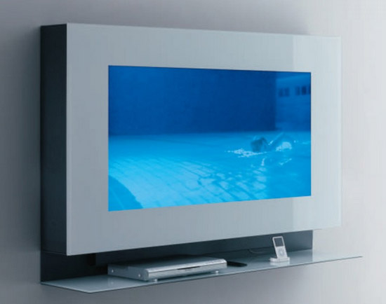 Ideal hi tech TV cabinet by Acerbis