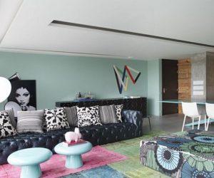 ... 145 square meters apartment interior design in Brazil