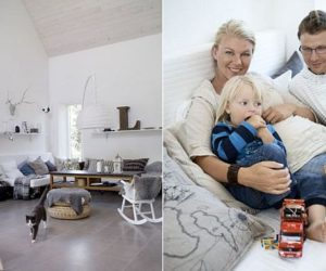 Chic family home in the Swedish countryside
